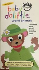 Baby Dolittle-World Animals (VHS, 2001)TESTED-VERY RARE VINTAGE-SHIPS N 24 HOURS
