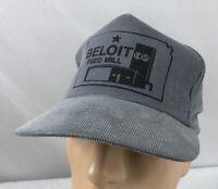 Vtg Beloit COOP Feed Mill Hat Cap Trucker Snapback Kansas