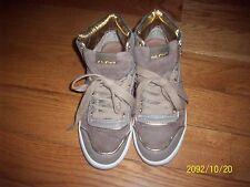 Brown & Gold ALDO Women Sneaker / Tennis Shoe Size 7.5