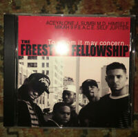 Freestyle Fellowship To Whom It May Concern CD SEALED NEW