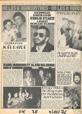 OK 038 (4/10/76) François Valéry - Carlos - Daydé - Ringo Starr - Jeane Manson