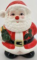 Vintage OGGI Porcelain Santa Claus Cookie Jar