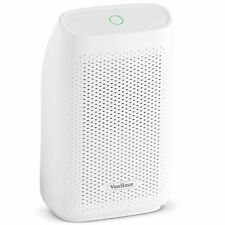 VonHaus 700ml Dehumidifier – With Auto Shut-Off – White, Compact & Portable