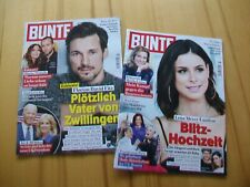 Bunte - 2 Zeitschriften - Ausgabe Nr. 4 + 5 / 2021