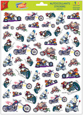 A4 Sticker Sheet Motor Bikes for Scrapbooking & Cardmaking over 50 Stickers NEW