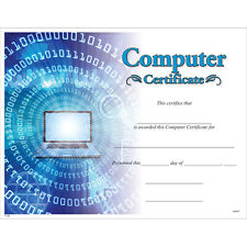 Computer Certificate, Pack of 15