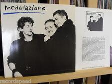 """★★ 12"""" LP - MODULAZIONE - Same (Amami) + Promo-Insert - ITALO-Rock - (Edo Zanki)"""
