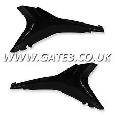 HONDA CRF450R CRF 450 R 2009-2012 BLACK UPPER SIDE PANELS NUMBER BOARDS PLASTICS