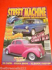 STREET MACHINE - SIX LITRE STREET ROD - APRIL 1998