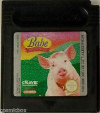 Game Boy Color BABE et ses AMIS jeu video enfant testé pour cartouche Nintendo