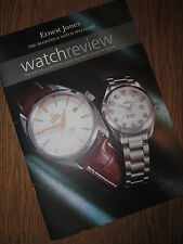 ERNEST JONES WATCH REVIEW 2003/4/Omega/Gucci/Raymond Weil/Boss/Burberry/Rotary