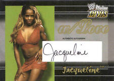 JACQUELINE 2003 Fleer w/LOVE WWE AUTOGRAPH AUTO CARD #033/100 JACKIE MOORE