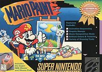 Mario Paint (Super Nintendo Entertainment System, 1992) Game Cartridge Only