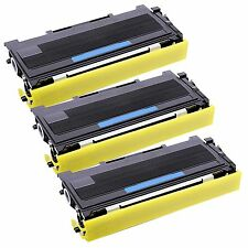 3 Pk TN-350 Toner For Brother TN350  MFC-7220 MFC-7225N MFC-7420 MFC-7820D