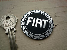 FIAT Garland Logo Stile Laser Cut Autoadesivo BADGE auto 48mm ABARTH 500 PUNTO