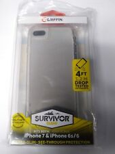 Griffin Survivor iPhone 6S/6/7 Clear 4ft drop tested Ultra Slim Phone Case