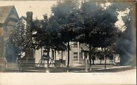 c.1910's RPPC Photo Homes In Canaseraga, New York, Willam Mabel Photographer a48