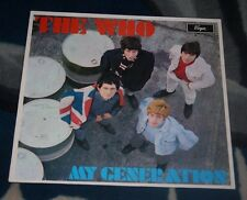 THE WHO MY GENERATION  1980  UK LP  VIRGIN V2179 MONO