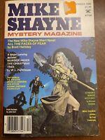 December 1980 MIKE SHAYNE Mystery Magazine BRETT HALLIDAY digest pulp magazine