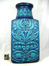 RARE 70´s Bodo Mans Design bay céramique vase 96 45 Biil Colour Combination