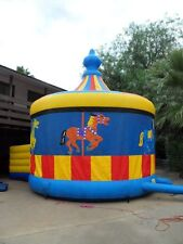 Commercial Jumping Castle - Carousel