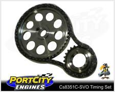 Timing Set Ford V8 Cleveland Stroker Double Chain fit Scat Crank CS8351C-SVO
