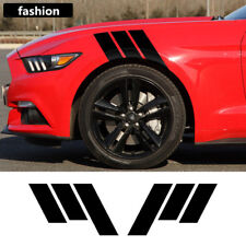 Pair Car Graphic Both Side Body Vinyl Decal Sticker Racing For Ford Mustang
