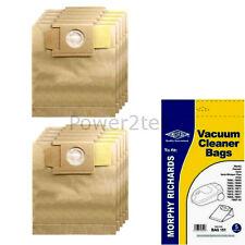 10 x 01, 87 Dust Bags for Privileg 918.214 918.265 939.378 Vacuum Cleaner