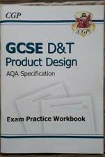 GCSE D&T Product Design Exam Practice Workbook AQA CGP excellent condition