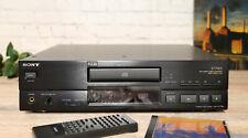 SONY CDP-X779ES HighEnd CD-Player XLR, FB, OVP, New Side-Panels! Boxed Near Mint