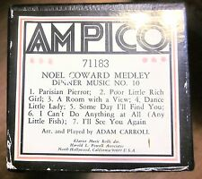 AMPICO 'ReCut' Player Piano Roll #71183 NOEL COWARD MEDLEY - Dinner Music No. 10