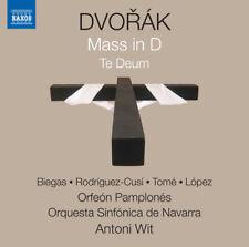 Antonin Dvorak: Mass in D ''Te Deum'' [New CD]