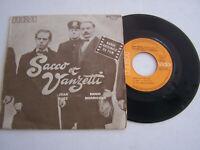 EP 45 TOURS VINYLE , JOAN BAEZ , SACCO ET VANZETTI . VG - / EX .