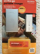 Sony Portable Charger For Tablet Phone Camera And More! Never Opened Brand New!