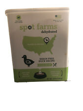 Spot Farms Grain Free Turkey Dog Food, Natural Human Grade Dehydrated 1.25 lbs