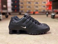 Nike Shox NZ EU Mens Running Shoes Black/White/Black 501524-091 NWB All Sizes
