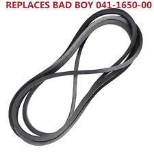 EXACT OEM KEVLAR SPEC BELT FOR BAD BOY 041-1650-00 041165000- BAD BOY ZT CZT