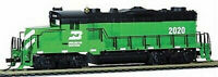 MANTUA  414104 HO SCALE Burlington Northern 2020 GP20 Diesel MRC DC/DCC/Sound