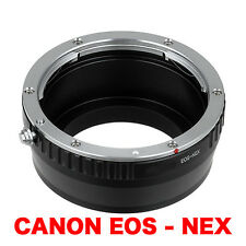 EOS - NEX  Canon EOS Objektiv EF Lens Adapter an Sony NEX Kamera E-Mount