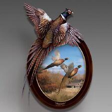 Pheasants in Flight Bird Plate  - Bradford Exchange