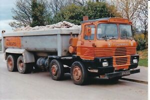 COL PHOTO: HALL AGGREGATES SCAMMELLL ROUTEMAN 8 WHEEL TIPPER - VPM 859S