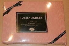 1 VINTAGE Laura Ashley Flat Twin Sheet NEW PINK