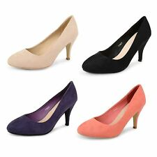Unbranded Faux Suede Court Shoes for Women