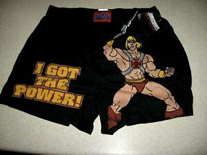 Masters of The Universe 2003 Lic. New w/tag Boxer Shorts LRG  Mattel
