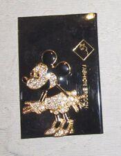 Disney Minnie Maus Strass Glitzer Brosche Anstecknadel NEU (A52v)