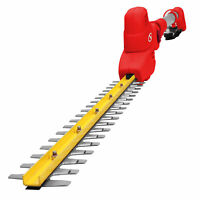 Sun Joe Electric Pole Hedge Trimmer | 18-Inch | 3.8 Amp | Multi-Angle (Red)