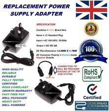 UK 5V POWER SUPPLY ADAPTER CHARGER TO FIT KODAK EASYSHARE DIGITAL CAMERA M1033