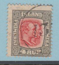 ICELAND NUMERAL CANCELLATION 13 EYJARHOLAR