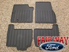 03 04 05 06 07 08 09 10 Expedition OEM Ford Rubber All Weather Floor Mat Set 4pc