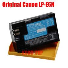 Genuine Canon LP-E6N battery for EOS 5DIII 5DIV 5DS 5DSR 6D 60D 70D 80D 90D 7DII